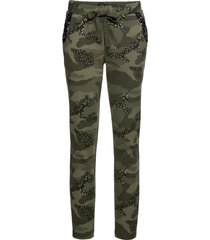 pantalone in felpa con glitter (verde) - rainbow