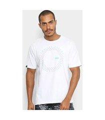 camiseta hd estampada grid masculino