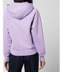 ami women's de coeur hoodie - lilac - l