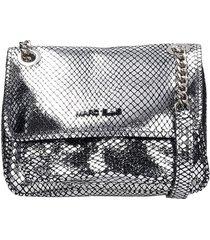 marc ellis rubye m shoulder bag in silver leather