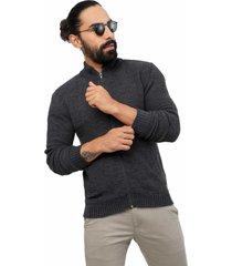 chaqueta colmena jersey giive - sha077-gris claro-gris jasped