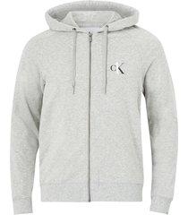 huvtröja full zip hoodie