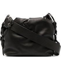 dorothee schumacher ruched pouch shoulder bag - black