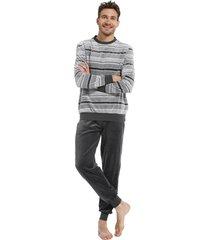 heren pyjama pastunette velours 23212-638-2-xxl/56