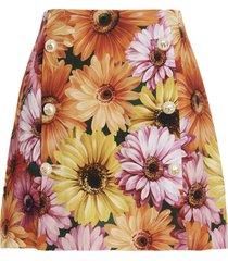 dolce & gabbana gerbere skirt
