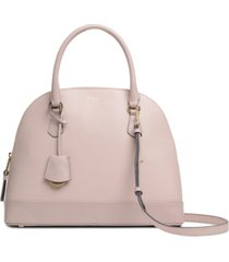 radley london anchor mews medium leather dome satchel
