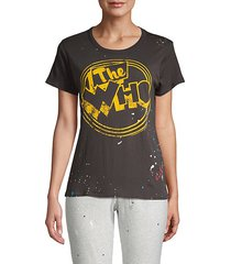 the who retro graphic tee