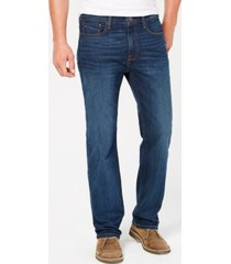 tommy hilfiger men's relaxed fit stretch jeans, created for macy's