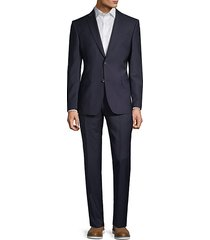 classic modern-fit wool suit