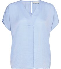 rinda iw top blouses short-sleeved blå inwear