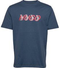 dicagolino_lp3 t-shirts short-sleeved blå hugo