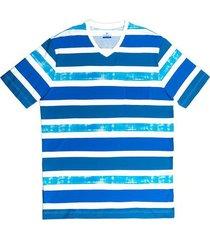 camiseta manga corta diseño estampado slim fit para hombre 89771