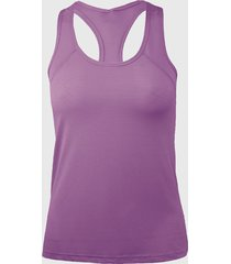 camiseta musculosa básica violeta andesland