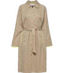 coats woven trench coat rock beige edc by esprit