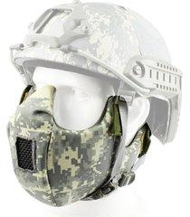 malla táctico protección facial inferior media máscara facial máscara