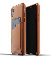 etui full leather wallet iphone xr