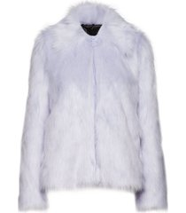 sahn outerwear faux fur blauw tiger of sweden jeans