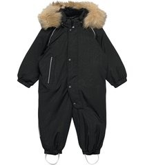 aapua outerwear snow/ski clothing snow/ski suits & sets zwart reima