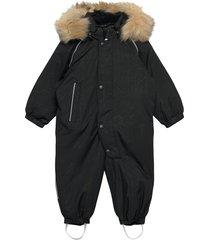 aapua outerwear snow/ski clothing snow/ski suits & sets zwart reima
