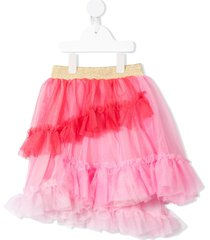 raspberry plum tiered tulle dress - pink