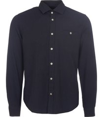 matinique dark navy trostol r flannel shirt 30202314