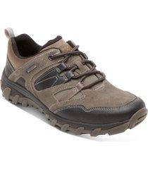 rockport men's csp low tie waterproof sneakers men's shoes