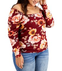 full circle trends trendy plus size ruched mesh top