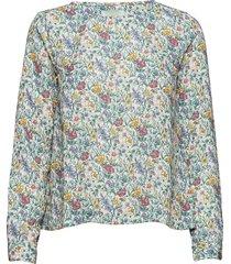 flora liberty meadow blouse blouse lange mouwen multi/patroon morris lady