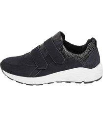 sneakers naturläufer mörkblå