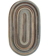 capel american legacy oval braid 0210-700 8' x 11' area rug