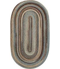 capel area rug, american legacy oval braid 0210-700 7' x 9'