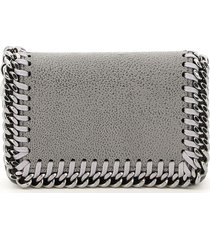 stella mccartney falabella card holder pouch