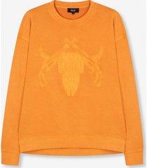 alix pistol sweater oranje