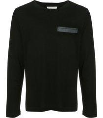 cerruti 1881 patch pocket sweater - black