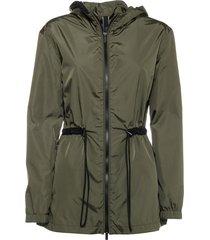 hogan hogan green wind jacket