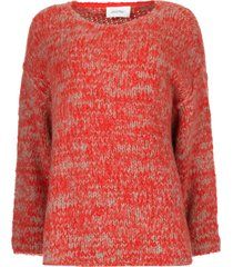 gebreide trui boolder  rood