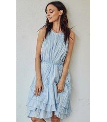 sukienka laguna blue