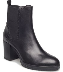 d remigia f shoes boots ankle boots ankle boots with heel svart geox