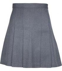 falda 8 tablones colegio gris kotting