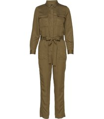tencel™ flight jumpsuit jumpsuit grön banana republic