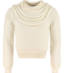 loewe crew-neck wool sweater