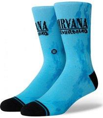 calcetin nirvana nevermind azul stance