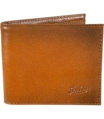 florsheim leather bifold wallet
