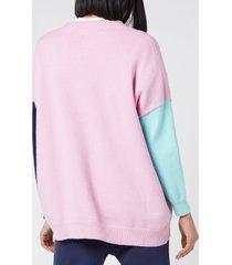 olivia rubin women's cecily cardigan - pink - l