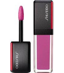 batom líquido shiseido - lacquerink lipshine 301 lilac strobe