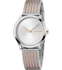 reloj calvin klein - k3m22b26 - mujer