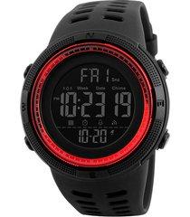 reloj hombre skmei 1251 - rojo