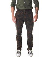 calça convicto taylor camuflado verde