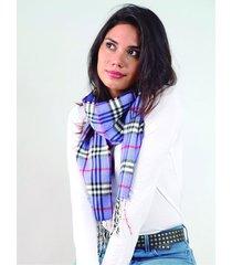 bufanda azul spiga 31 escocesa