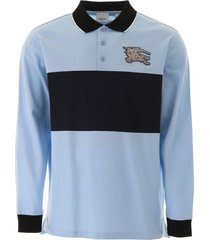 burberry polo shirt with embroidered logo